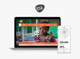 GSK | Charity Campaign Responsive Website