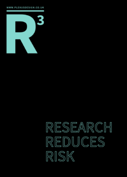 Research Reduces Risk - Free UX Poster - Return on Investment ROI